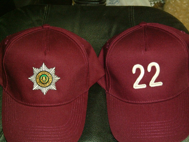 22nd Cheshire cap - Maroon